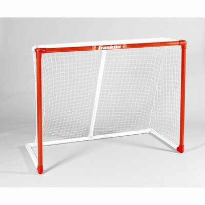 "Franklin Sports NHL 54"" INNERNET® PVC Goal with Top Shelf"