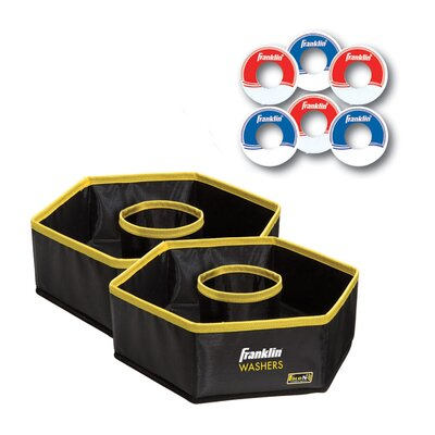 Franklin Sports Fold-N-Go Washers Game Set