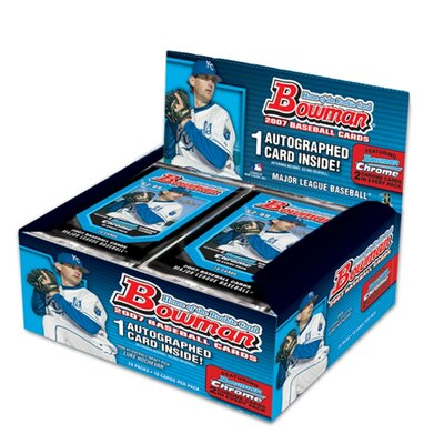 MLB 2007 Trading Cards - Bowman (24 Packs)
