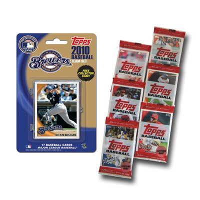 Topps MLB 2010 Team Set with Packs Trading Cards - Milwaukee Brewers