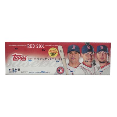 Topps MLB 2010 Factory Set Trading Cards - Boston Red Sox - Retail (Set of 666)