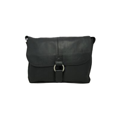 East/West 1/2 Flap Messenger Bag