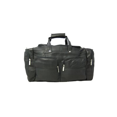 David King 19&quot; Leather Gym Duffel