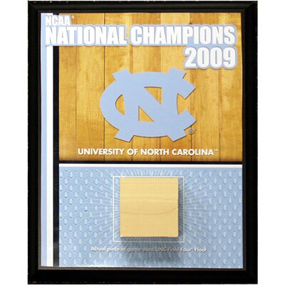 University of North Carolina Championship Court Plaque