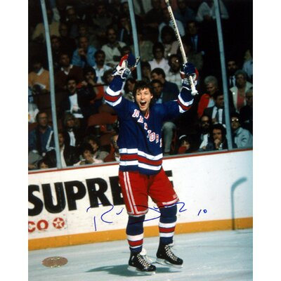 "Steiner Sports Ron Duguay Arms Raised 16"" x 20"" Photograph"