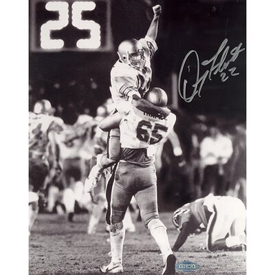 Steiner Sports Doug Flutie Boston College Hail Mary Celebration Autographed Photograph