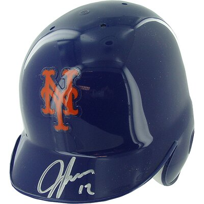 Steiner Sports Jeff Francoeur New York Mets Autographed Mini Batting Helmet