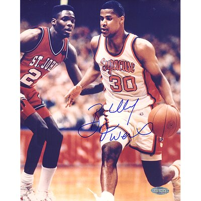 Steiner Sports NBA Billy Owens Syracuse Dribble Up Court Autographed