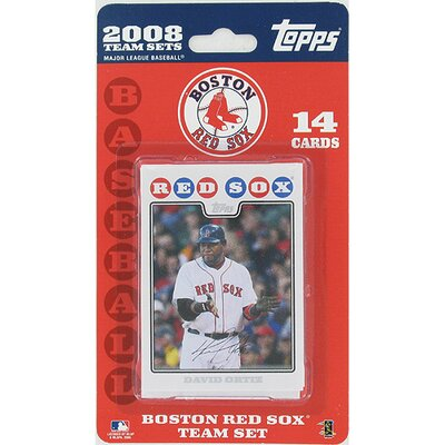 Steiner Sports Boston Red Sox 2008 Topps Card Set