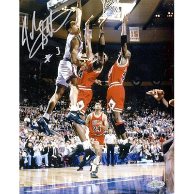 "Steiner Sports John Starks with Cartwright Dunk 16"" x 20"" Autographed"