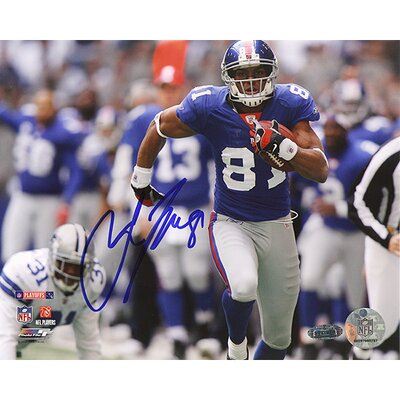 Steiner Sports Amani Toomer Touchdown Run vs. Cowboys Autographed Photograph