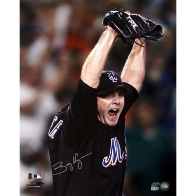 Steiner Sports Billy Wagner New York Mets Arms Raised (MLB Auth)