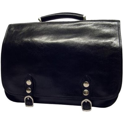 Alberto Bellucci Verona Comano Double Gusset Briefcase