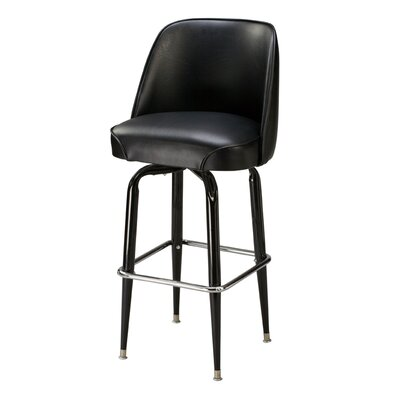 "Regal 109Ribiero 30"" Metal Swivel Barstool"