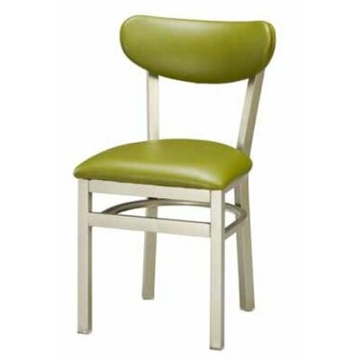 Regal Steel Upholstered Back Side Chair