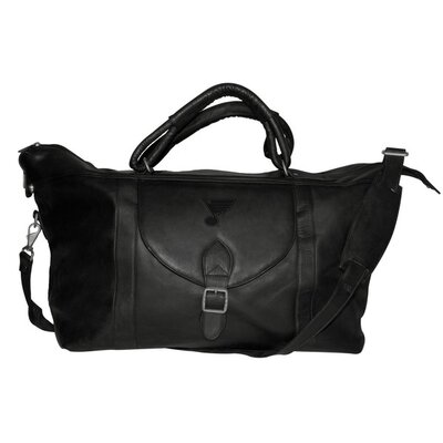"Pangea Brands NHL 25"" Leather Top Zip Travel Duffel"