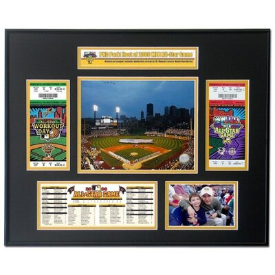 That's My Ticket MLB 2006 All-Star Game Ticket Frame July 11, PNC Park, Pittsburgh, Penn - San Francisco Giants