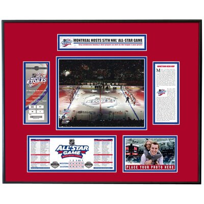 That's My Ticket NHL 2009 All-Star Game Ticket Frame - Opening Ceremony - Montreal Canadiens