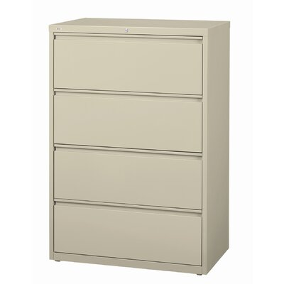 CommClad 30&quot; Wide 4 Drawer HL10000-Series Lateral File Cabinet