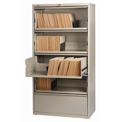 "CommClad Hirsh HL8000 Series 36"" Wide Commercial Lateral Files 5 Drawer"