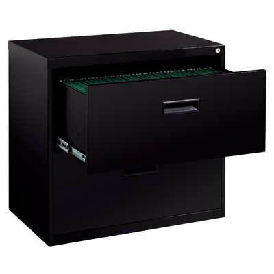 CommClad Soho 2-Drawer Lateral File Cabinet