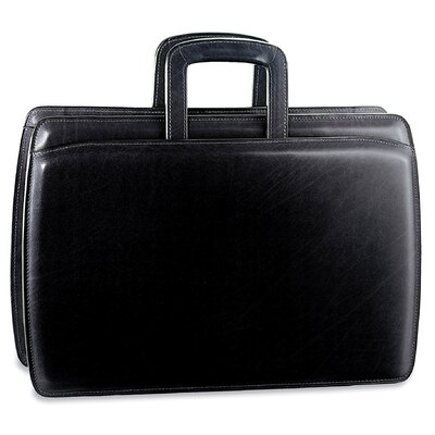 Jack Georges Elements Double Gusset Zip Top Briefcase