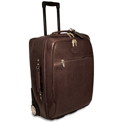 "Jack Georges Saddle 22"" Rolling Carry On"