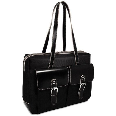 Generations Edge Zip Closure Business Tote with Front Pockets