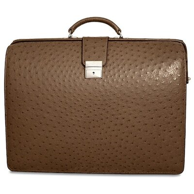 Jack Georges Genuine Ostrich Classic Briefbag