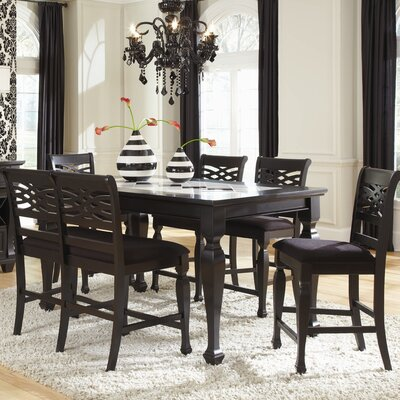 Najarian Furniture Monaco 6 Piece Counter Height Dining Set