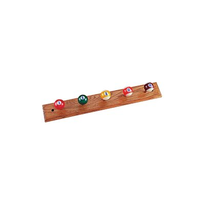 Cuestix Novelty Items Oak Coat Rack