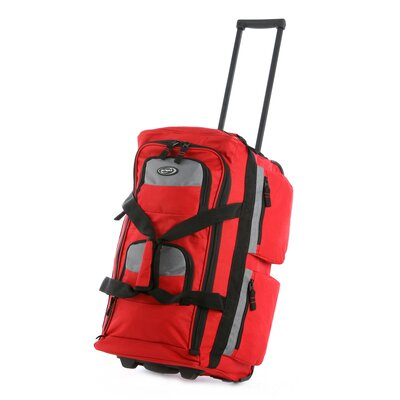 "Olympia Eight Pocket 22"" Rolling Duffel"