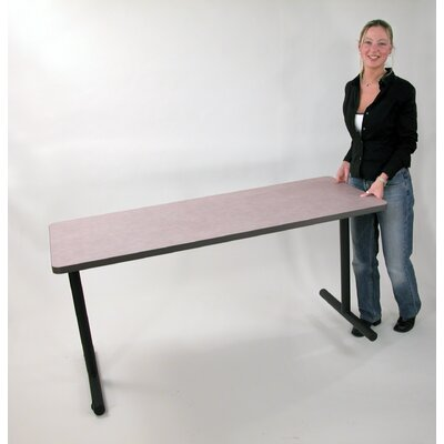 "SurfaceWorks Zume 24"" x 72"" Rectangular Training Table"