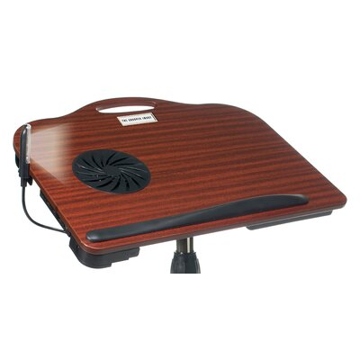 Sharper Image Multifunctional Cooling & Adjustable Laptop Stand