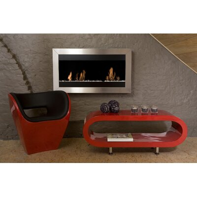 Bio-Blaze Square I Ethanol Fuel Fireplace