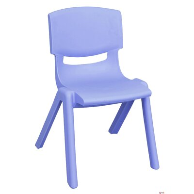 ECR4kids 11&quot; Polypropylene Classroom Stackable Chair