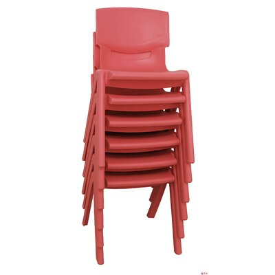 "ECR4kids 10"" Polypropylene Classroom Stackable Chair"