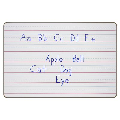 "ECR4kids Dry-Erase Pupil Board - 12""x18"" Ruled (10 Pack)"