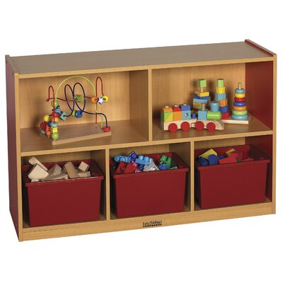 "ECR4kids Colorful Essentials™ Storage Cabinets - 5 Compartment - 30"" High"