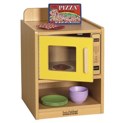 ECR4kids Colorful Essentials Play Microwave Oven
