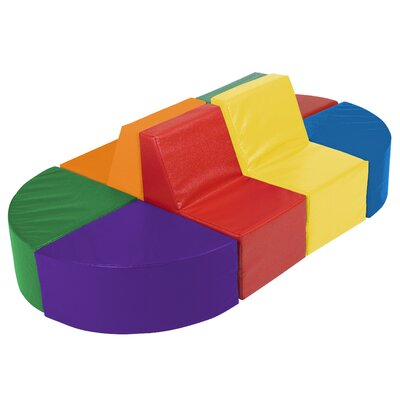 ECR4kids SoftZone™ 8 Piece Sectional