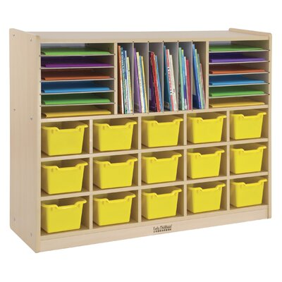 ECR4kids Multi Section Storage Cabinet