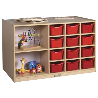 ECR4kids Double-Sided 12 Tray Cabinet without Bins