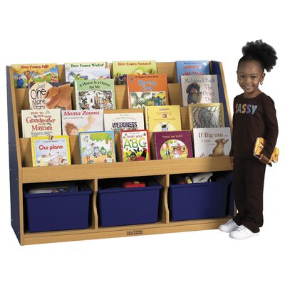 ECR4kids Large Book Stand 3-Tray