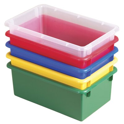 ECR4kids Stack and Store Tub with No Lid (Set of 15)