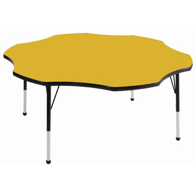 "ECR4kids 60"" Flower Adjustable Activity Table"