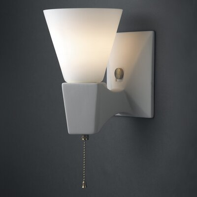 Euro Classics Geo Rectangular Single-Arm Wall Sconce