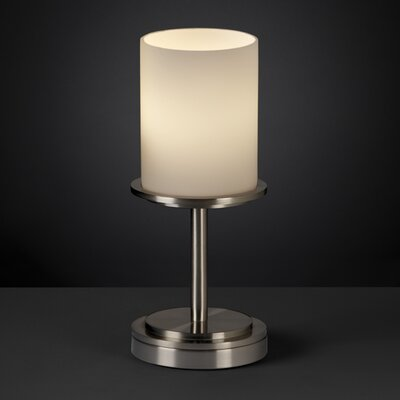 Justice Design Group Fusion Dakota 1 Light Table Lamp