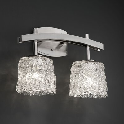 Justice Design Group Archway 2 Light  Bath Vanity Light