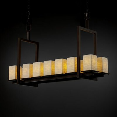 Justice Design Group Limoges Montana 14 Light Chandelier